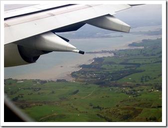 NZ landing