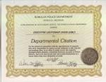 RPD Departmental Citation 6b 98