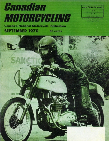 Canadian Motorcycling Cover